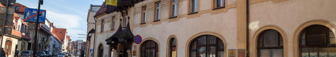 Budynek JCK - galeria pod Brązowym Jeleniem