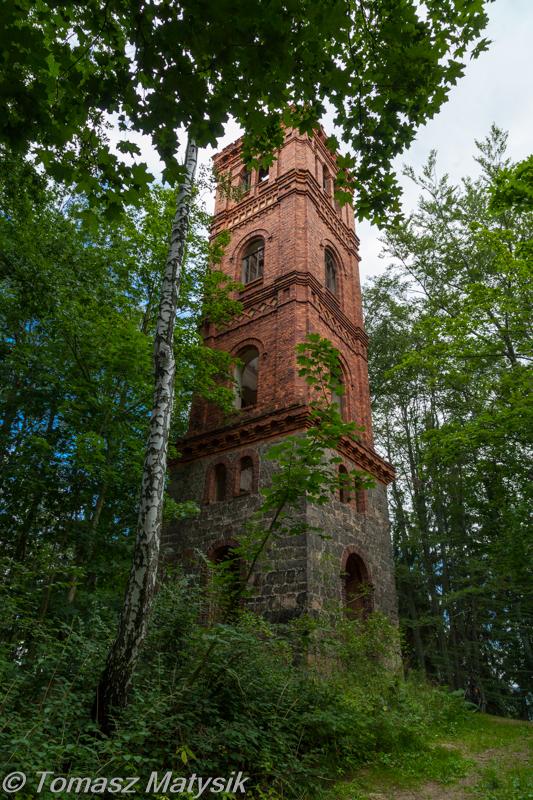 Wieża widokowa w parku Maciejowa